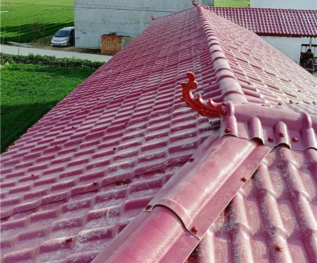树脂瓦屋顶使用案例